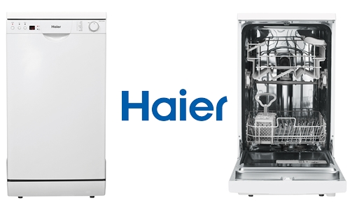 Haier HDW9TFE3WH White