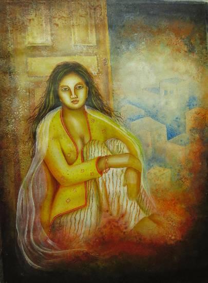 Pratiksha by Priyanka Goswami (part of her portfolio on www.indiaart.com)