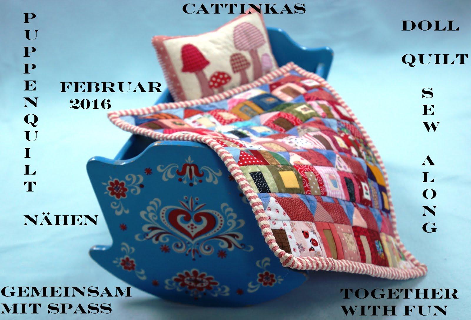 Puppenquilt-SAL im Februar