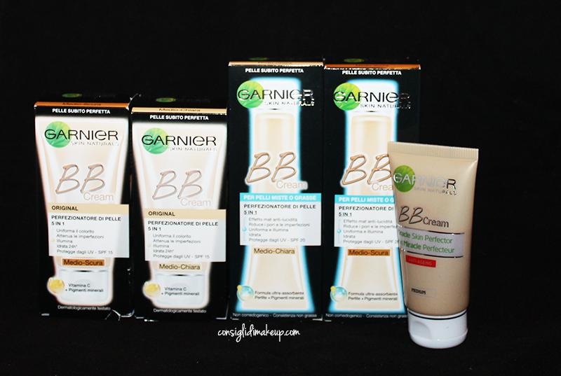 BB Cream Garnier - Consigli, nuances ed applicazione!