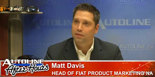 Matt Davis, Head of Product Marketing for Fiat USA