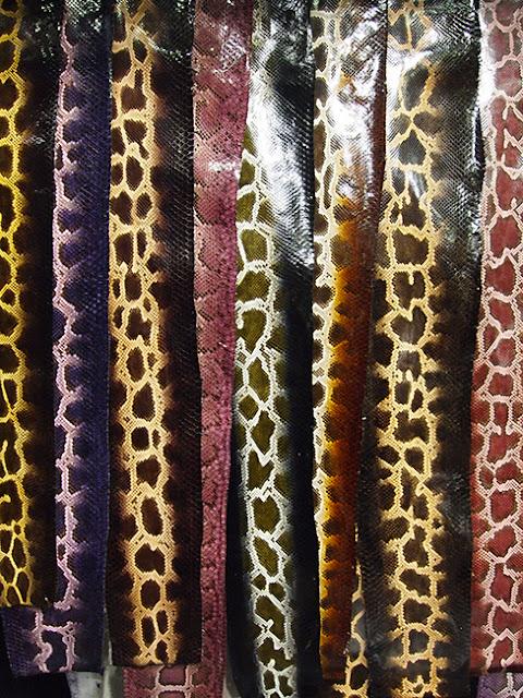 reptile leather