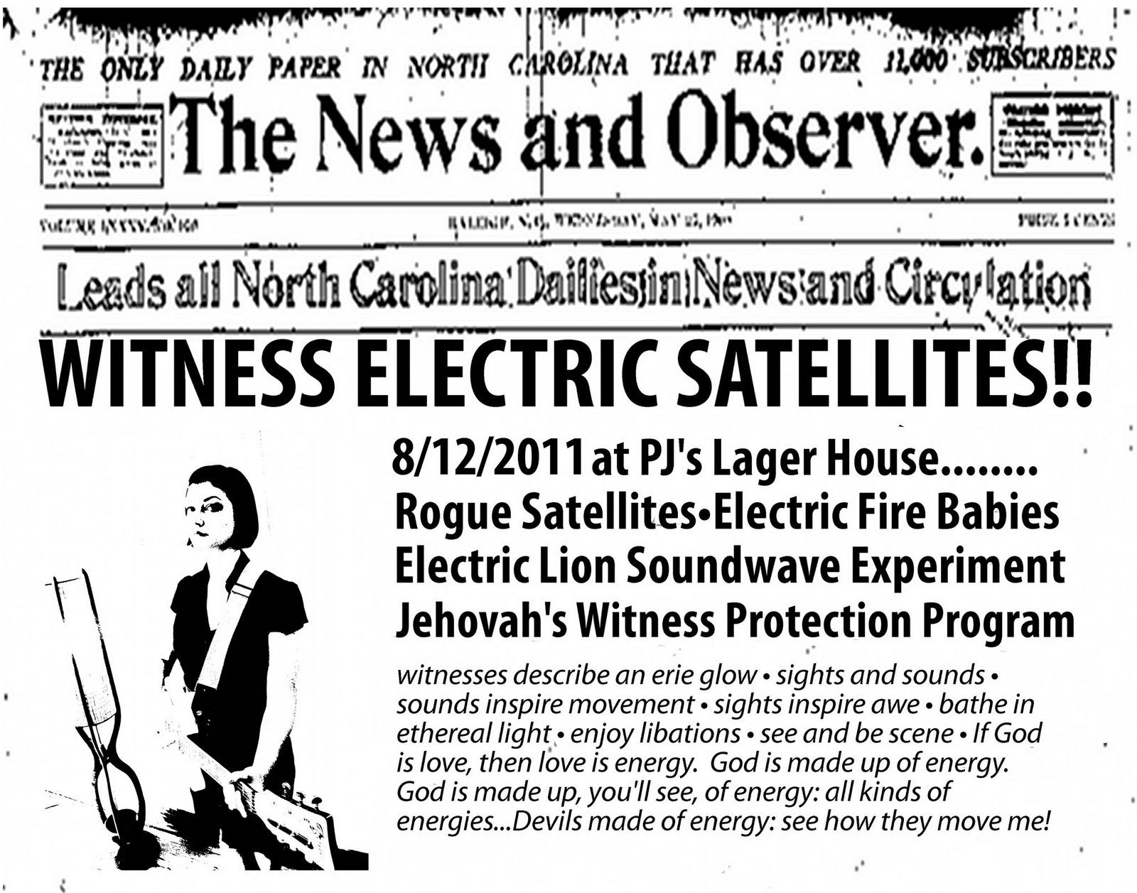 Front Row Detroit 1058 Electric Lion Sound Wave