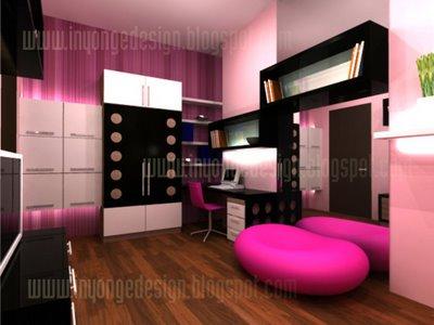 ... interior kamar dekorasi kamar tidur kost cara desain interior kamar