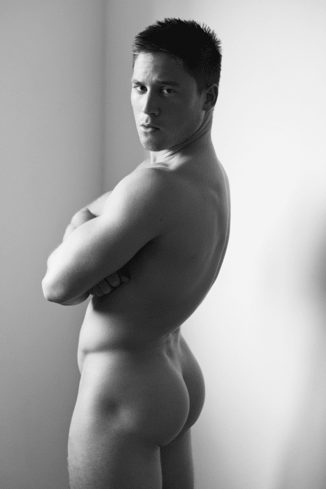 Bodybuilder Tombe Harvey by Nicholas Andrews