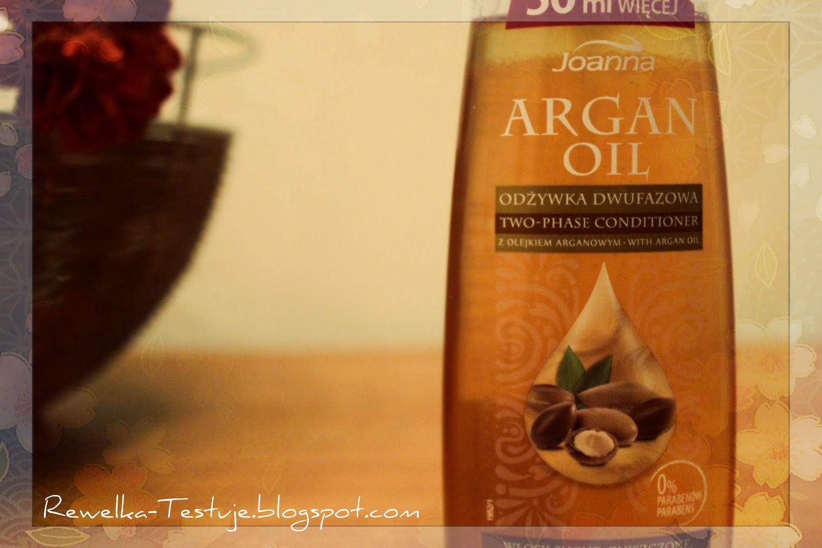 Dwufazowa odżywka z olejkiem arganowym od Joanny - Rewelkowa recenzja :)
