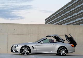 2013 Mercedes-Benz SL-Class roof operation