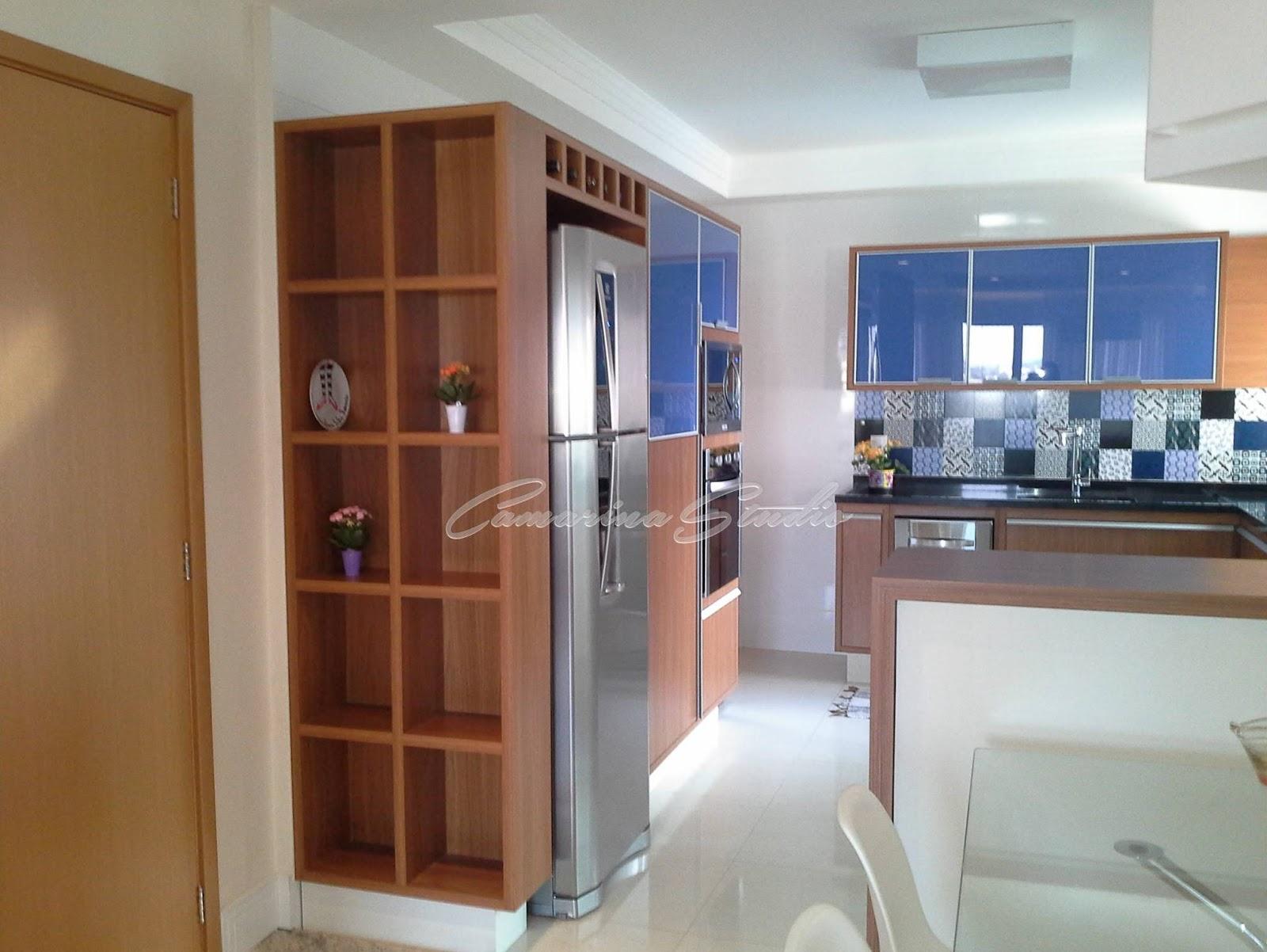 Design de Interiores por Érica Marina Ribeirão Preto: Cozinha  #6D3F27 1600 1202