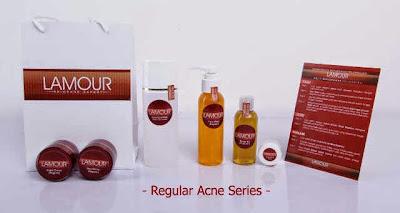 Toko Online Lamour Skin Care - Paket Lamour Reguler Face Acne Serie - Paket Lamour Reguler Face Oily Series - Jual Kosmetik Perawatan Kulit Wajah dan Tubuh