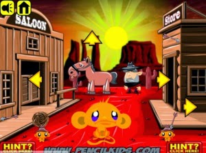 Play Monkey go happy - Western