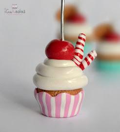 Portafotos cupcakes