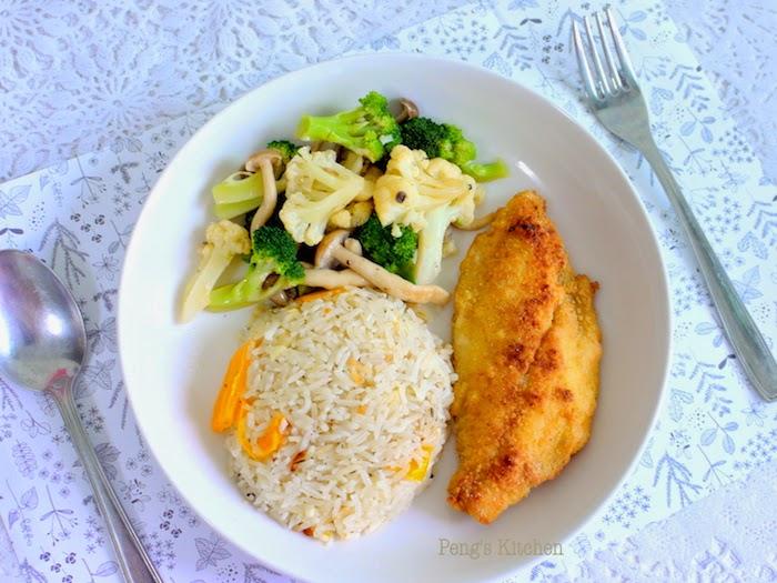 Peng S Kitchen Cornmeal Crusted Fish