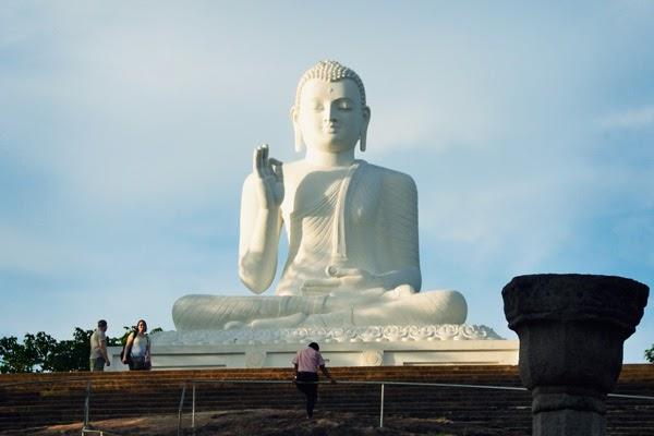 Buddha at Anuradhapura