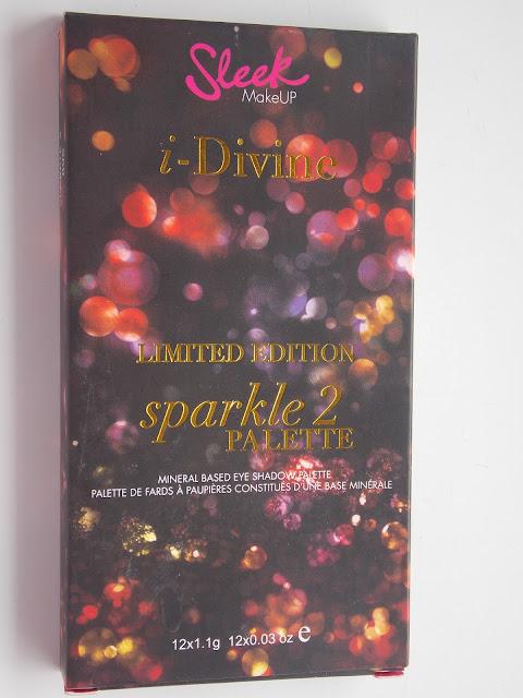 Sleek Limited Edition Sparkle 2 Eyeshadow Palette