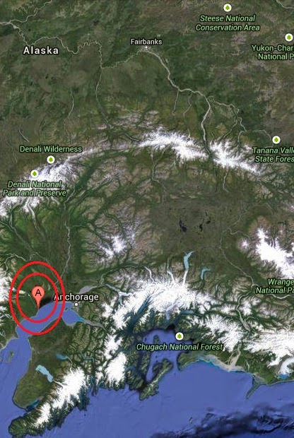 Magnitude 3.2 Earthquake of Nikiski, Alaska 2014-09-10
