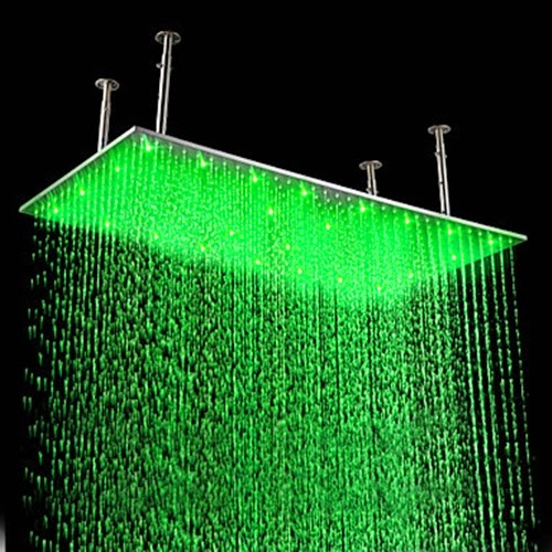 House Interior Designs Shower Heads With Light