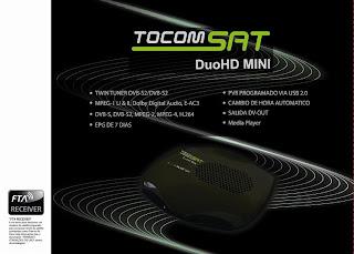 portal Atualização TocomSat Duo HD Mini 05/01