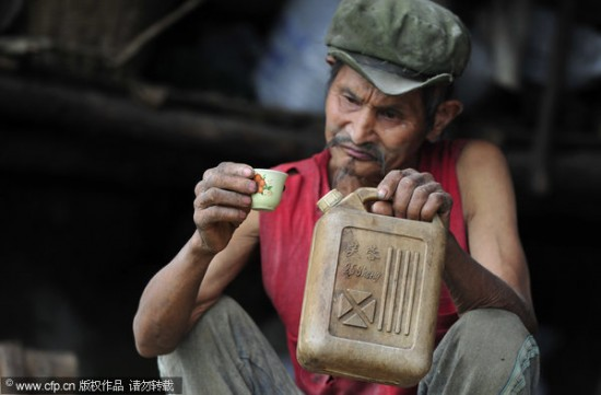 Man drinks gasoline for 42 years