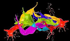 Descubra o prazer das cores