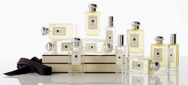 Joe Malone perfume collection