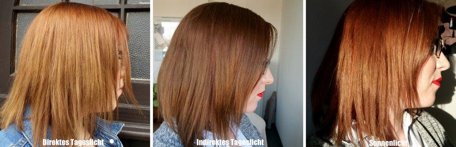 Blondierte haare braun farben vorher nachher