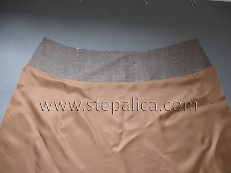 Šivenje Zlata suknje: #11 sastavljanje postave