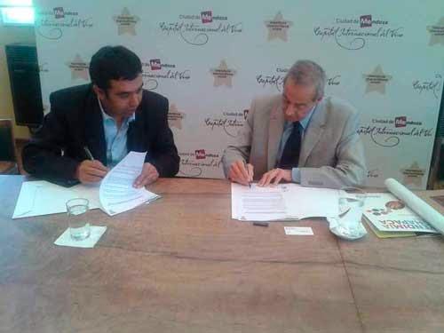 Uriondo y Mendoza suscriben un acuerdo por el turismo productivo