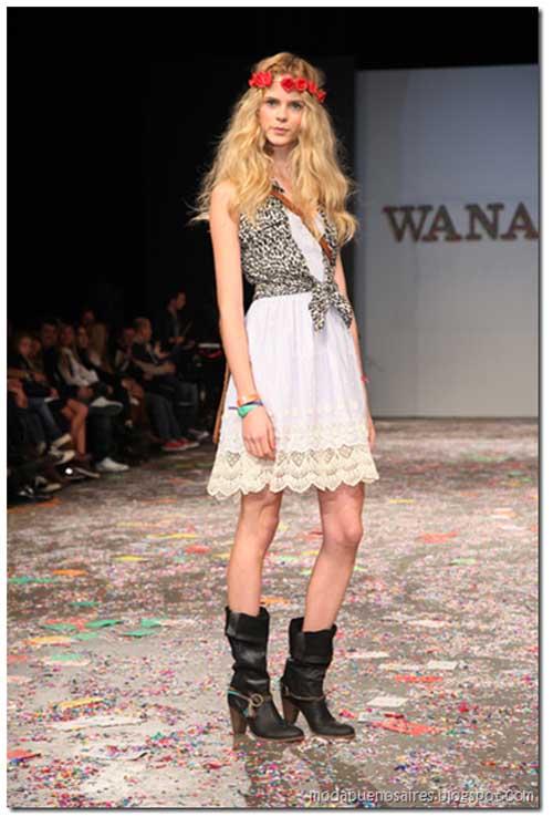 Aquí, imágenes de la Campaña y parte de lo que se vió en la pasarela del Bafweek de Wanama colección primavera verano 2012