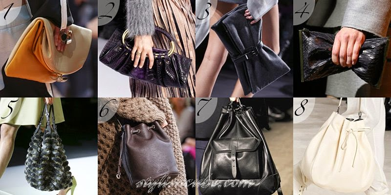 Fall Winter 2014 2015 Women's Handbags Fashion Trends
