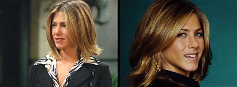Jennifer aniston bob haircut on friends season 7 3