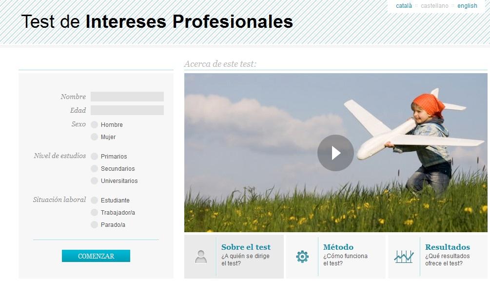 TEST DE INTERESES PROFESIONALES