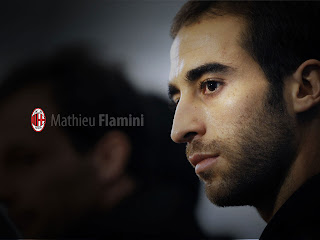 Mathieu Flamini AC Milan Wallpaper 2011 1