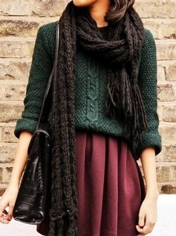 Earth And Green earthy winter outfit