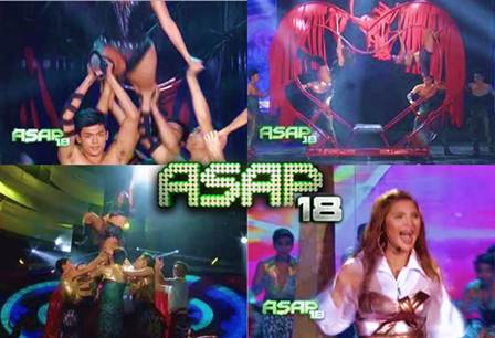 Regine Tolentino and Angela Velez Reunite for ASAP 'Clash Dance'