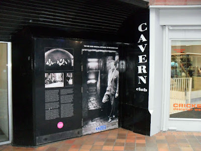 The original entrance to The Cavern Club