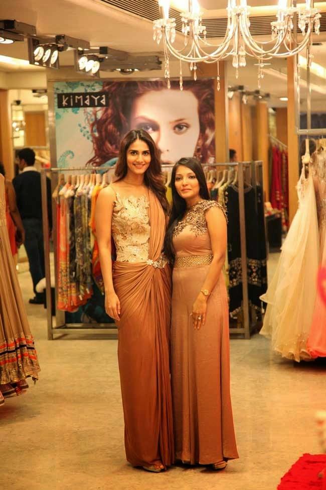 Vaani Kapoor in Saree Gown