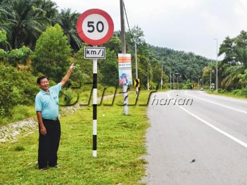 Had Laju 50 Km/j Tak Munasabah, Ramai Pengguna Disaman