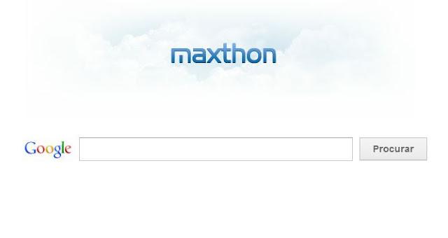 Maxthon navegador para internet