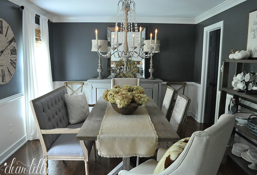 dear lillie fall house tour 2015. Black Bedroom Furniture Sets. Home Design Ideas