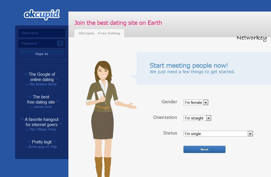 OKCupid: sito appuntamenti per conoscere persone online