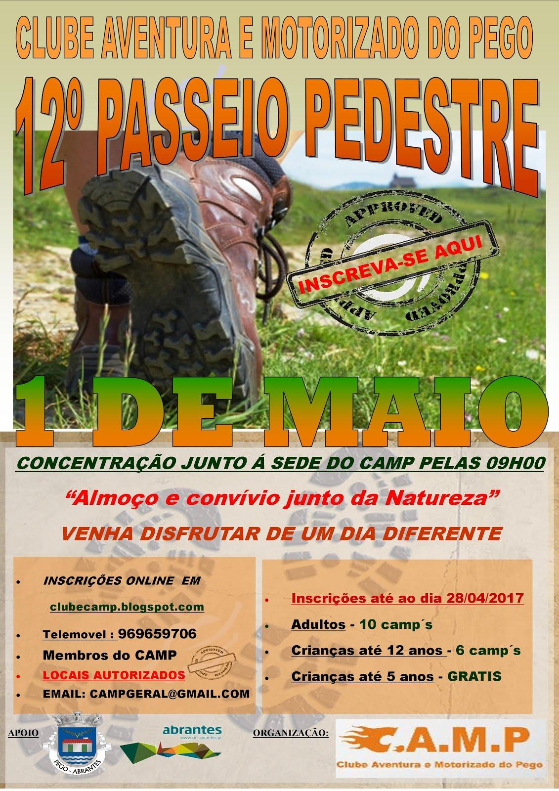 PASSEIO PEDESTRE 2017