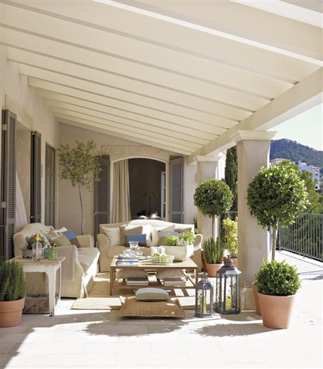 Beautiful Rooms Beautiful Porches and Patios
