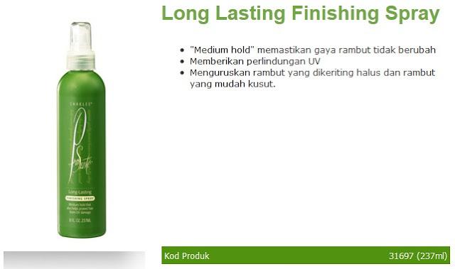 5. Long Lasting Finishing Spray