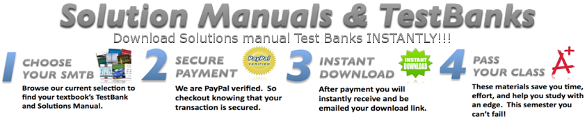 Solutions Manual Test Bank Zone