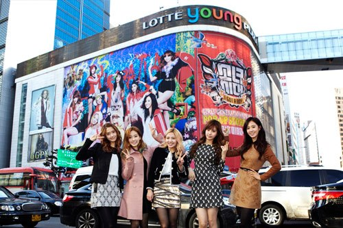 Foto Terbaru SNSD di Lotte Pop Up Store 04
