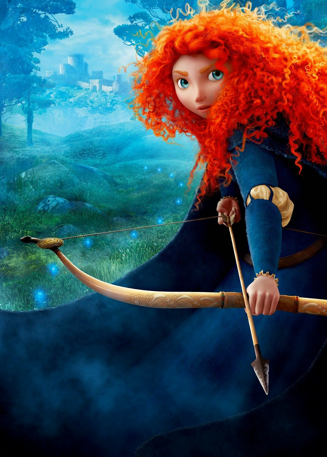 princess merida in brave wallpapers - Princess Merida in Brave free desktop backgrounds and