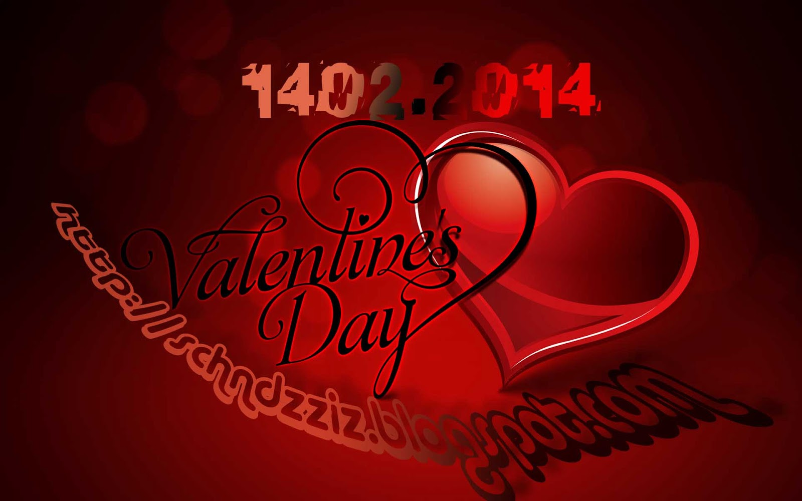 HAPPY HARI VALENTINE DAY 2014 CARDS