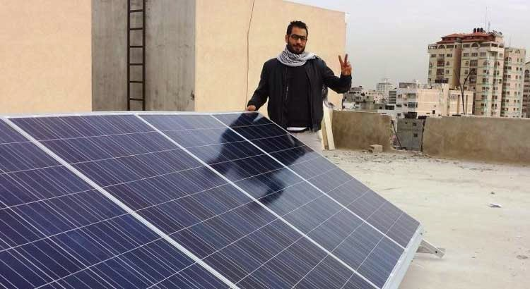 Non-Profit Organization Brings Free Solar Energy To The People Of Gaza