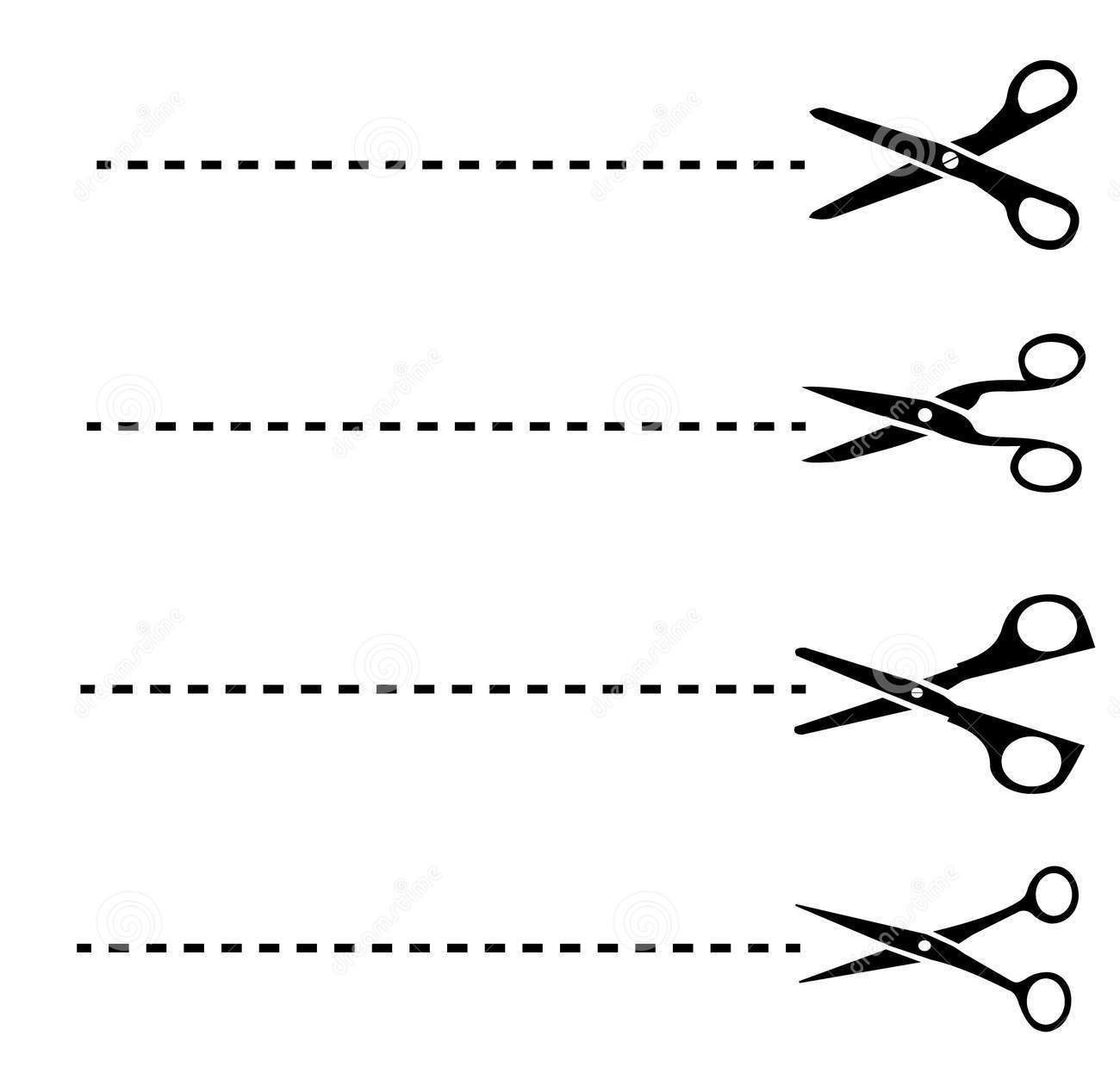cut out dotted line