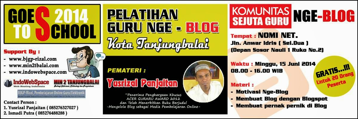 Workshop Guru Nge-Blog Tanjungbalai